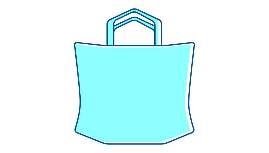 Reusable bags (cabas)