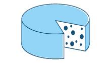 Rivestimenti di cera dei formaggi