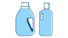 Flaconi per detergenza