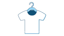 Grucce per indumenti (vendute con un indumento)