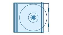 Involucro che ricopre la custodia  di CD, videocassette, cassette