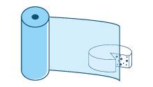 Pellicole di plastica trasparente destinate  ad essere riempite nel punto vendita
