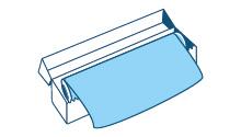 Rotoli astucciati di foglio di alluminio destinati esclusivamente ad uso domestico