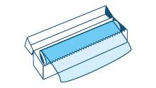 Pellicole di plastica trasparente destinate esclusivamente ad uso domestico