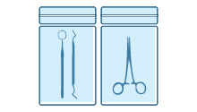 Sterile barrier systems (wrappers, trays and materials necessary to preserve sterility)