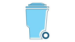 Cassonetti e altri contenitori per rifiuti
